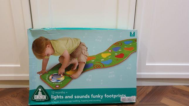 Музыкальная дорожка-шагомер Funky footprints