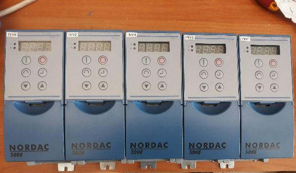 Честотен регулатор(инвертор) NORDAC 0,4кw 230V