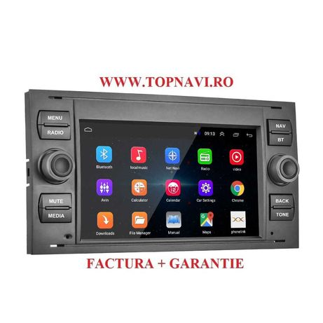 Navigatie android noua ford focus kuga galaxy transit mondeo