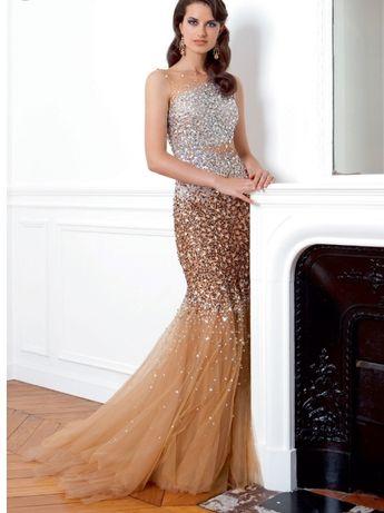 Бална рокля с камъни Gribha