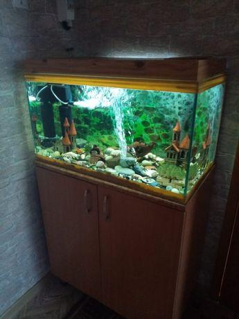 Продам аквариум 120л