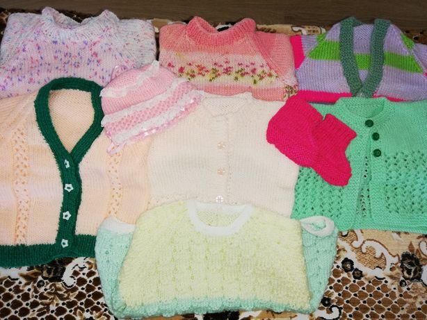 Lot haine crosetate fetita 1-3 luni