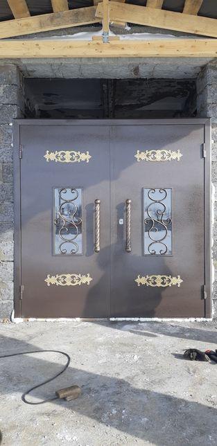 Перила козырьки ворота заборы двери