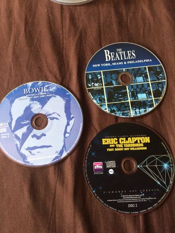 AC/DC, Eric Clapton, Bowie, The Beatles, The Rolling Stones, дискове