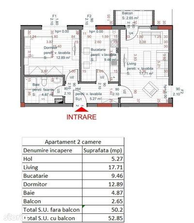 Apartament 2 camere ~ Piata Cluj - La 5 minute de Centrul istoric