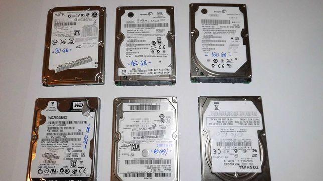 HDD-uri Laptop/Notebook SATA diferite modele 80-250gb