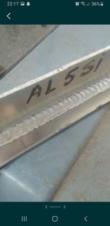 Sudura aluminiu argon