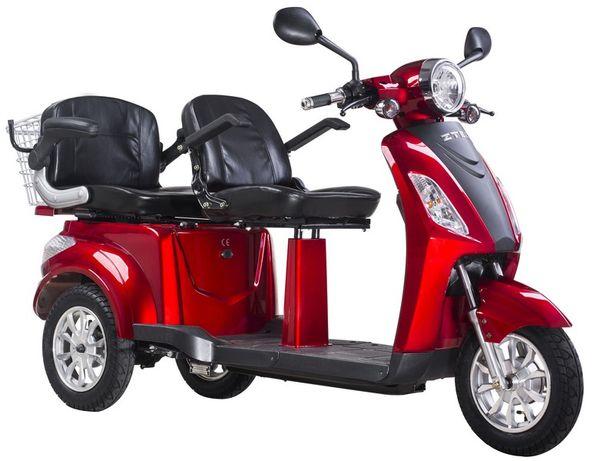 Tricicleta Electrica ZTECH ZT-18 Trilux cu 2 locuri, 60V 20Ah, 1000W