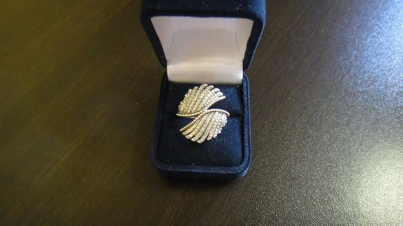 Сребърен пръстен Pandora ''Величествени пера''