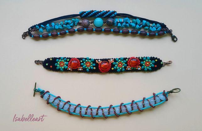Brățări handmade, model unicat, pentru femei și barbati