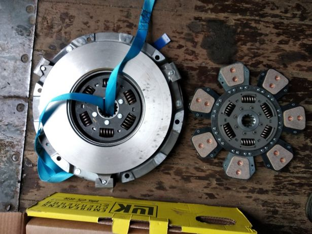 Диск сцепления нажимной (корзина+фередо) МТЗ-80,82 LUK