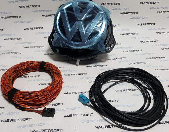 Camera Video Marsalier HIGHLINE Emblema FLIP ORIGINALA VW Golf 7
