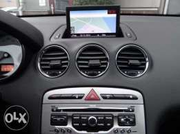 SD CARD navigatie GPS RNEG Peugeot Citroen Ds