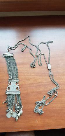 Кюстек синджир часовник ятаган сабя сребро пафти оригинал тугра