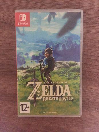The legend of Zelda:breath of the wild для Nintendo Switch