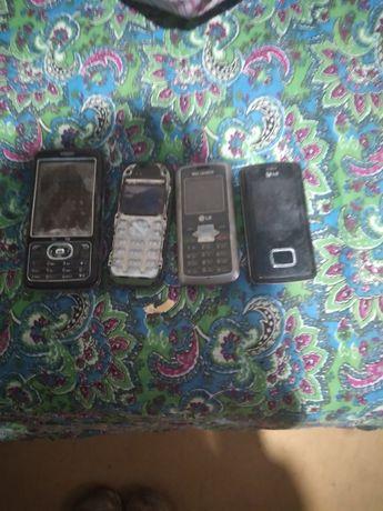 Телефоны на запчасти по 1000 тг за штуку