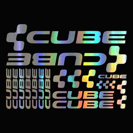 Set Stickere profesionale cadru bicicleta CUBE MTB/Cursiera