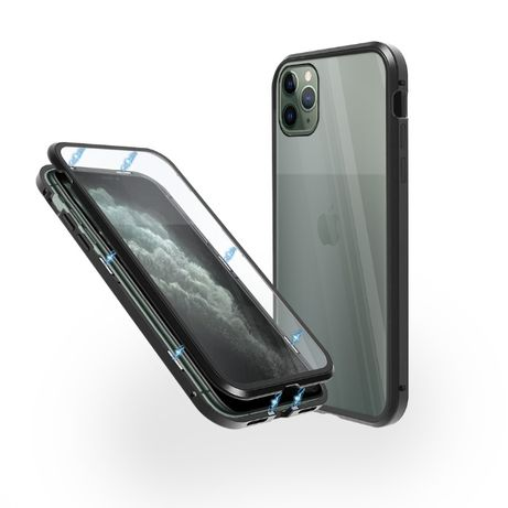 Алуминиев 360° Кейс iPhone 11/11 Pro/Max/X/XS/Max/XR/8/7/Plus/SE 2020