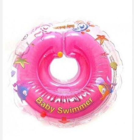Colac de gat pentru bebelusi Babyswimmers roz