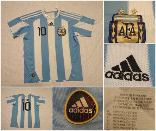 Tricou fotbal Messi 10 ARGENTINA ADIDAS joc coletie colectionari fani