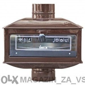 Универсална фурна за всякакви печки на твърдо гориво:дърва,въглища,бри