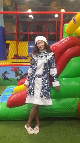 Новогодние платья снегурочки