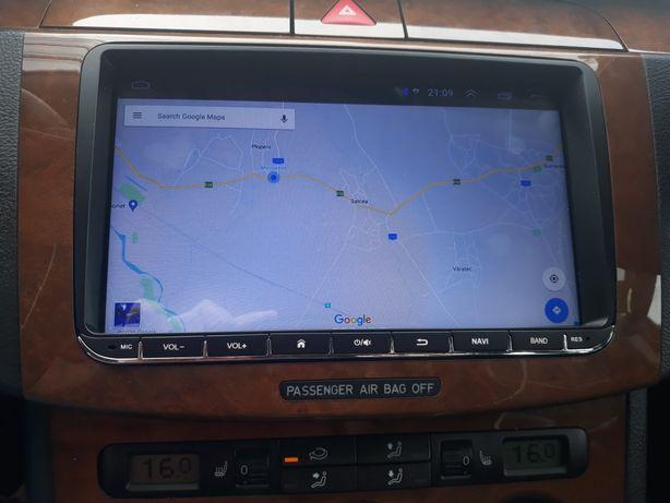 """Navigatie android 9"""" vw, skoda, seat 1gb ram,16 memorie"""