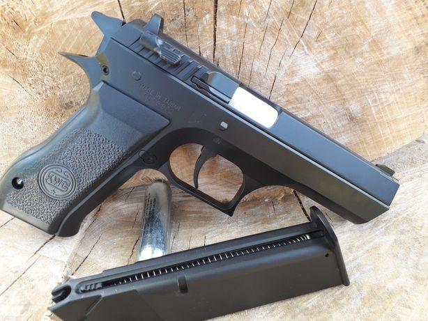 JERICHO 941 4j METALIC pe CO2 calibru 6mm PUTERE MARE pistol airsoft