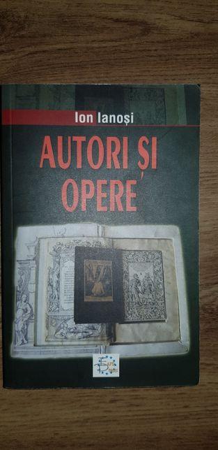 Ion Ianosi - Autori si opere vol 1 culturi occidentale