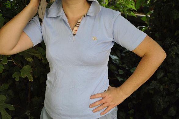 синя дамска тениска Burberry