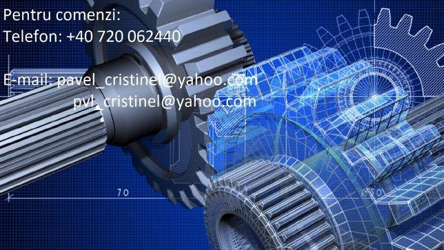 Realizez desene tehnice/modelare 3D/AutoCAD/Inventor/SolidWorks/Catia