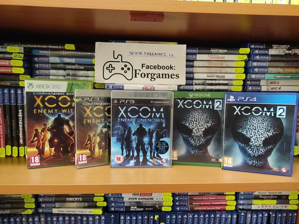Vindem jocuri consola Xcom Enemy Unknown PS3 Within Xbox 360 One 2 PS4