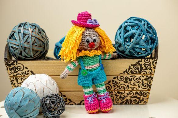 Плетени играчки на една кука-Забавни клоуни