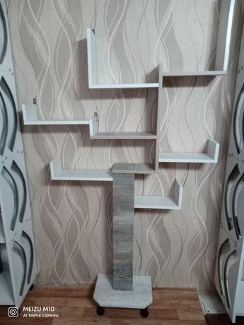 Делаю мебель на заказ. Полки(дерево памяти) от 10000 до 15000 тг