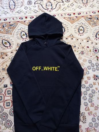 Толстовка (OFF-WHITE) чёрный цвет