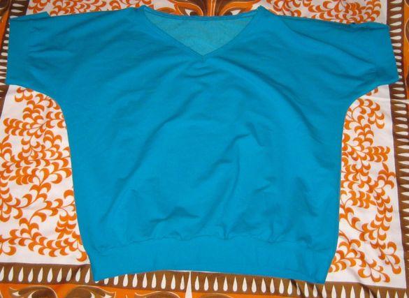 Дамска блуза в синьо
