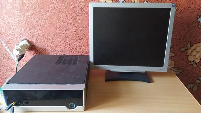 Пк (Монитор и системный блок)