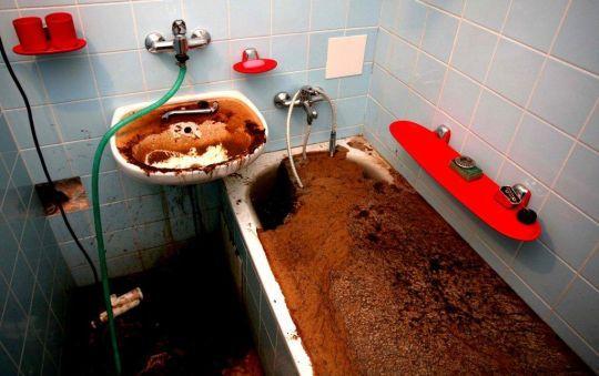 Прочистка канализации аппаратом, прочистка труб, чистка канализации