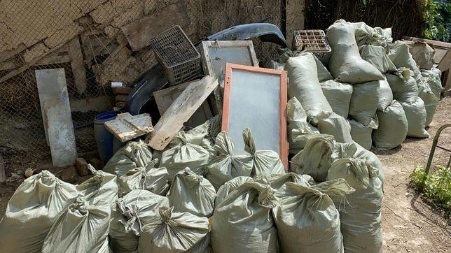 Вывоз мусора уборка территории