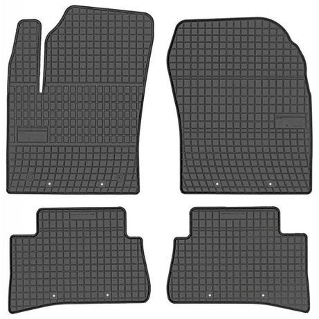 Set Covorase Auto Cauciuc Negro Toyota CH-R 2016→ Cod: 401853