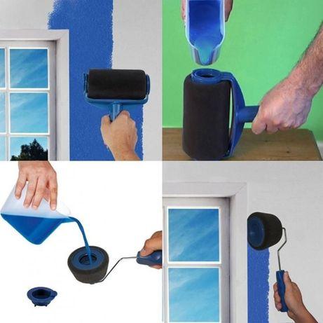 ХИТ!! Paint Runner комплект 8 части валяци-мечета за боядисване с дръж