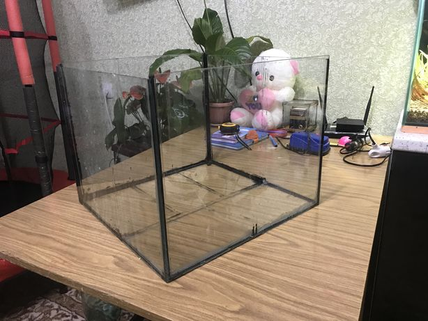 Аквариум куб