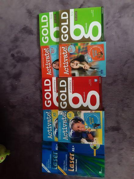 НАМАЛЕНИЕ!! Учебници по английски нива A1,A2,B1,B1+, B2