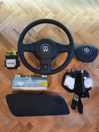 Volkswagen Polo Поло 6R airbag аирбаг аербаг Волан Табло Колани
