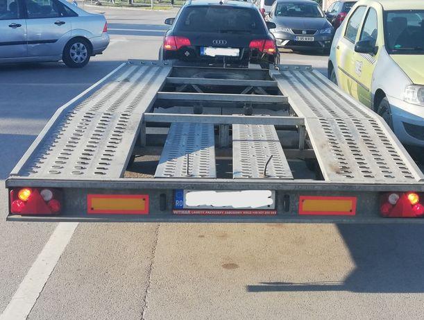 Vand Inchiriez inchiriere Platforma trailer 2 tone, 2 axe, 2019