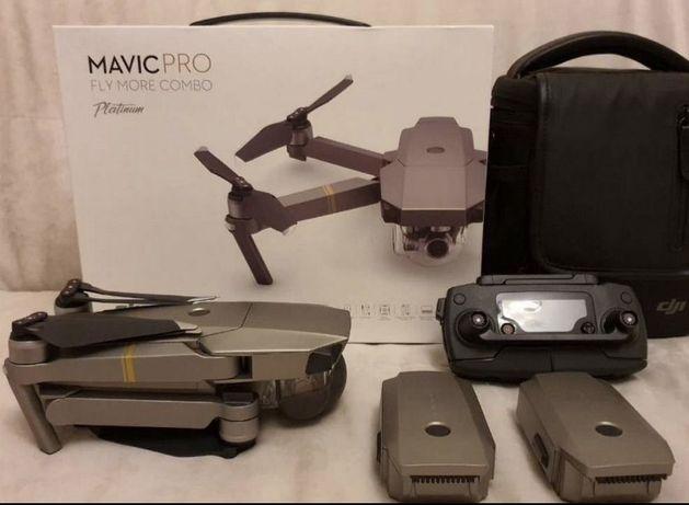 Dji mavic pro platinum combo (дрон, квадрокоптер)