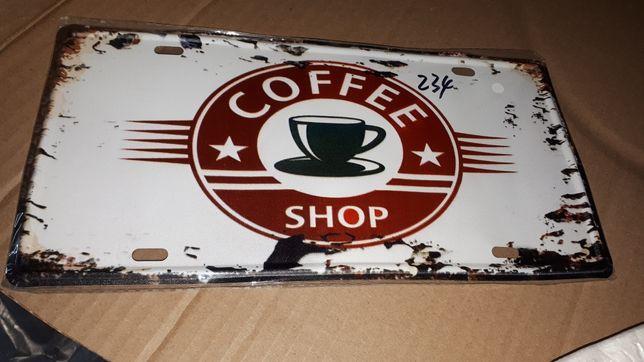 Табличка для кофейни новая неиспользованная