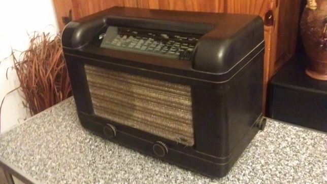 Radio cu lampi Blaupunkt 5w69- 1939-1940-transport gratuit