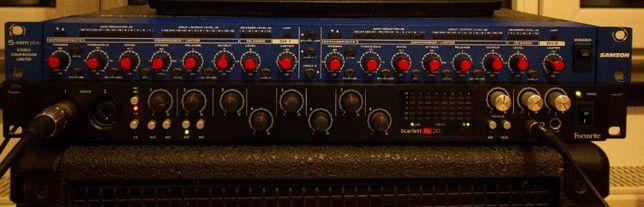Stereo Compressor/Limiter Samson S-com plus