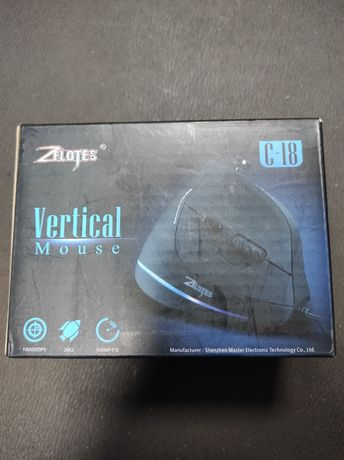 Mouse cu fir Gaming Zelotes C-18 Vertical - LED - Nou Sigilat